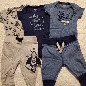 Newborn space outfits!